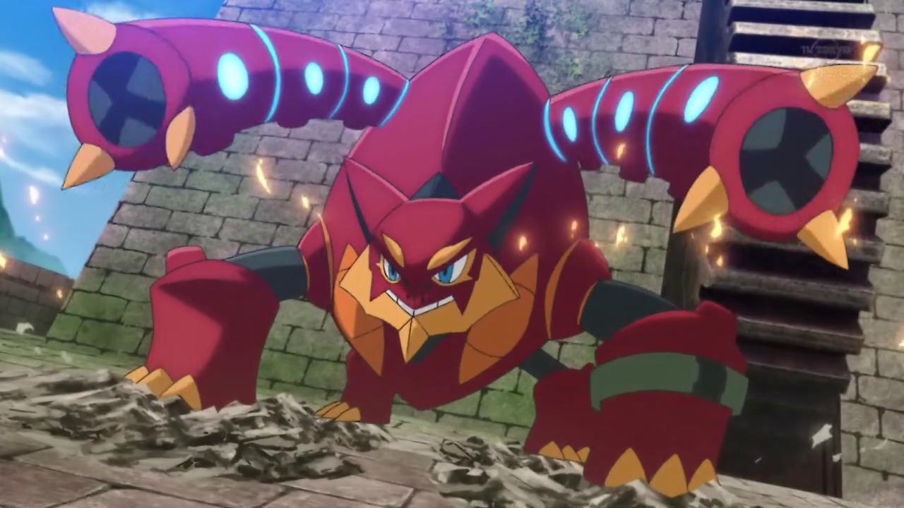 Pokemon - Volcanion