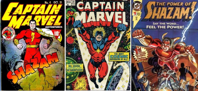 La colección tuvo que cambiarse de nombre a causa de una patente de Marvel