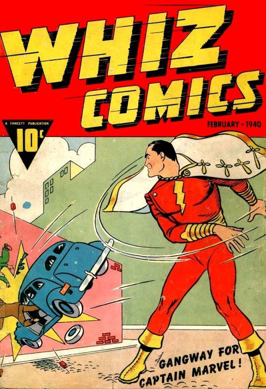 Primera aparición de Captain Marvel