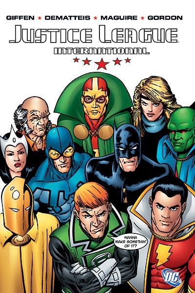 Shazam en la Liga de la Justicia Internacional