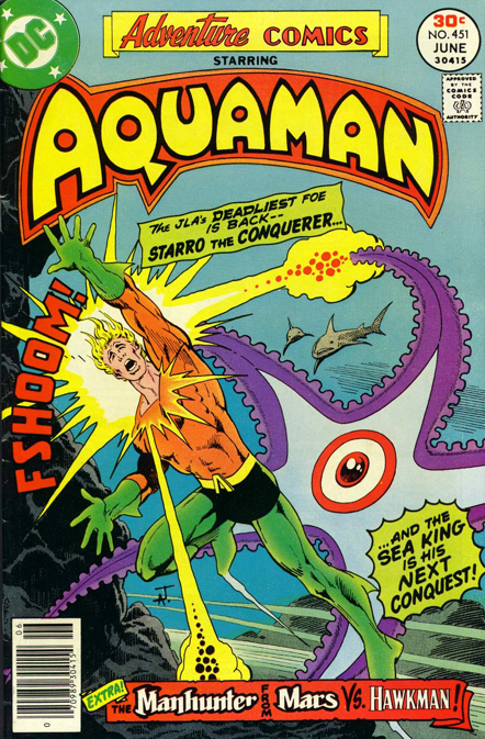 Starro en la colección de Aquaman