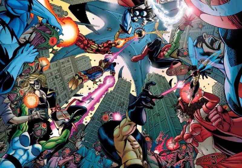 Starro controlando a los héroes del universo Marvel