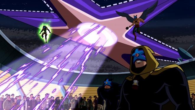 Starro también ha aparecido en series de animación