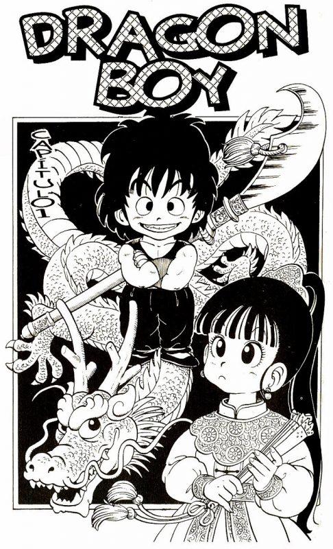 Ilustración de Dragon Boy