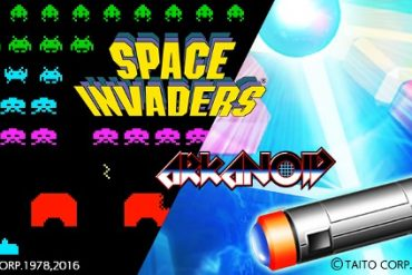Space Invaders y Arkanoid