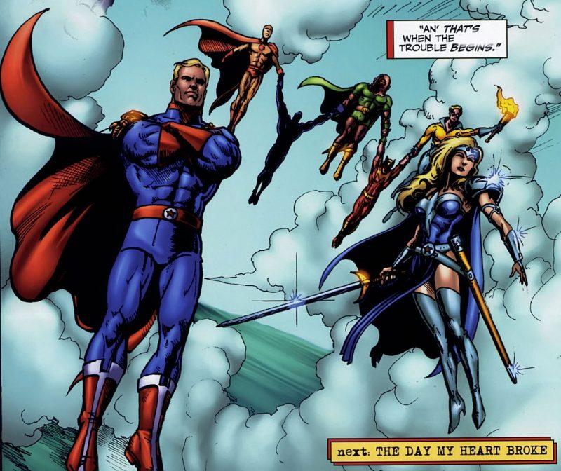 The Seven, los superhéroes mas poderosos (y peligrosos) de todos