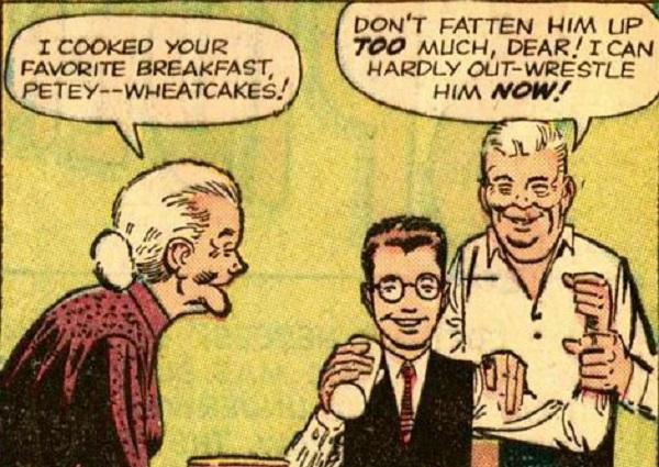 Peter y sus tios