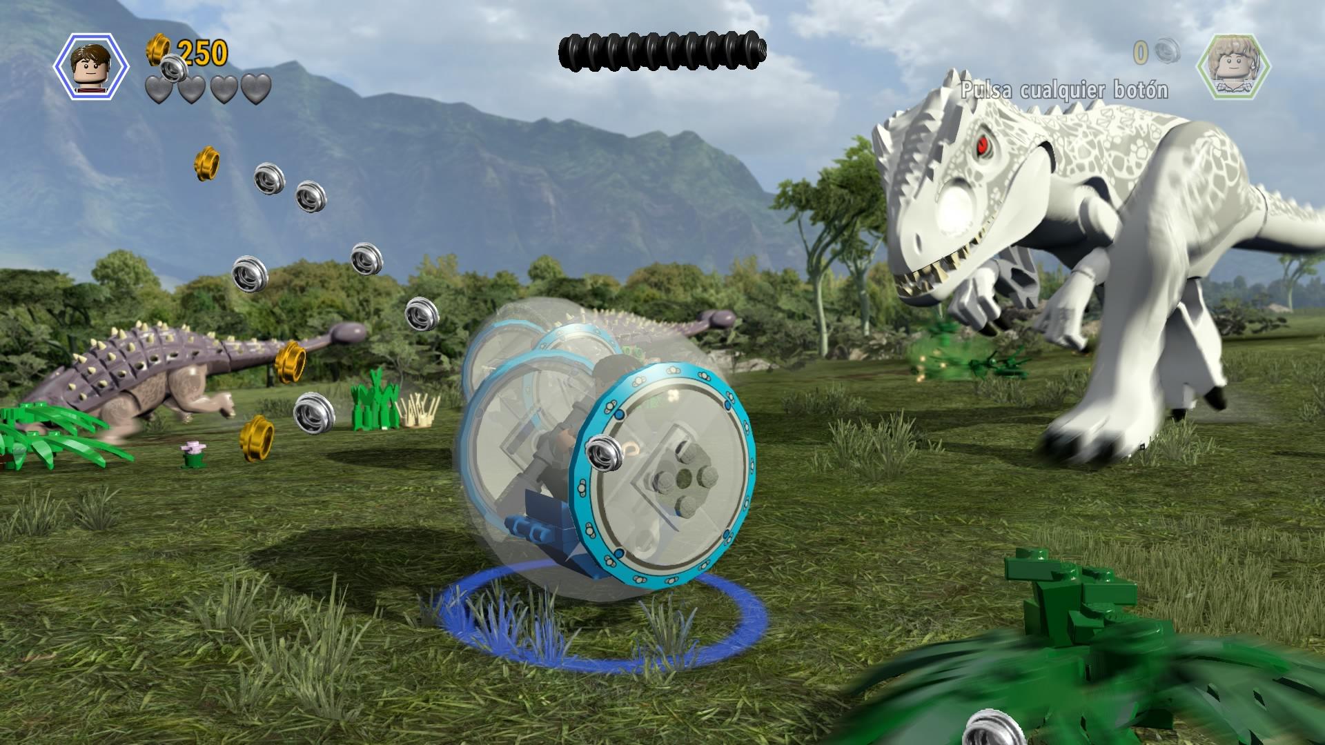 Jugando a 39 lego jurassic world 39 combogamer for Puerta jurassic world