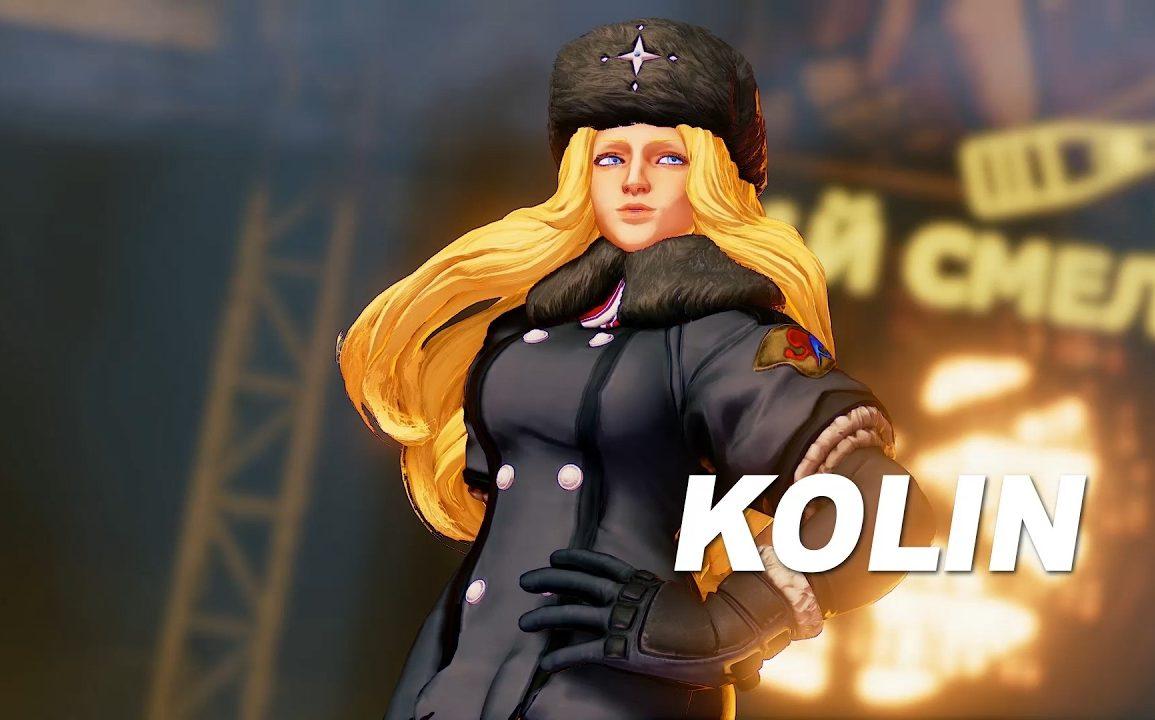 Street Fighter V - Kolin