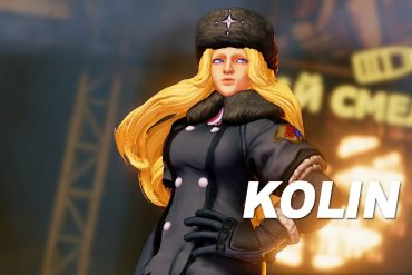 Street Fighter V - Kolin