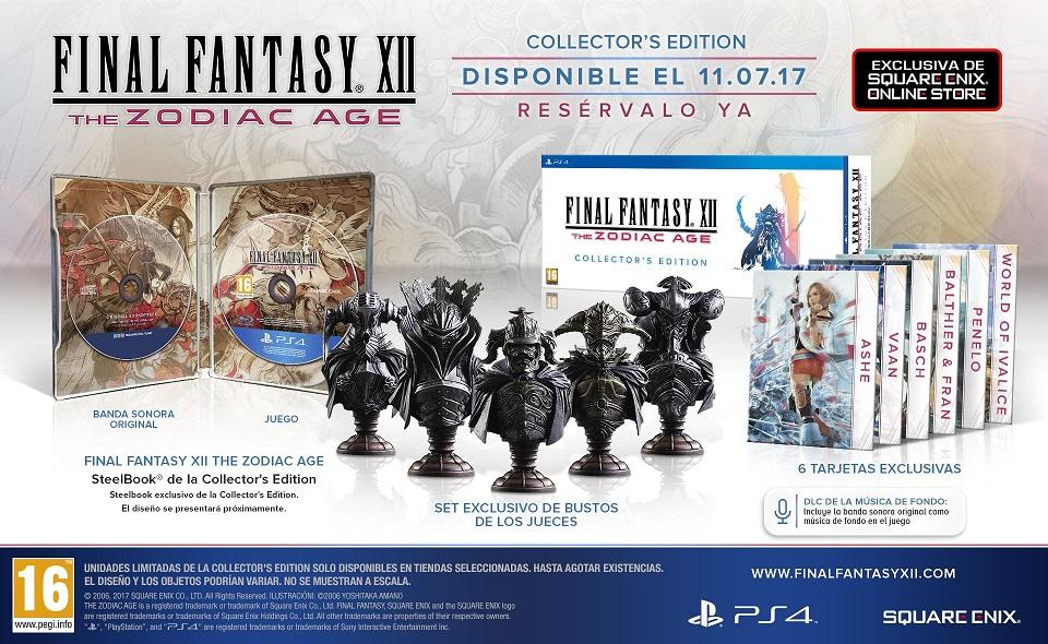 Final Fantasy XII The Zodiac Age - Collector's Edition