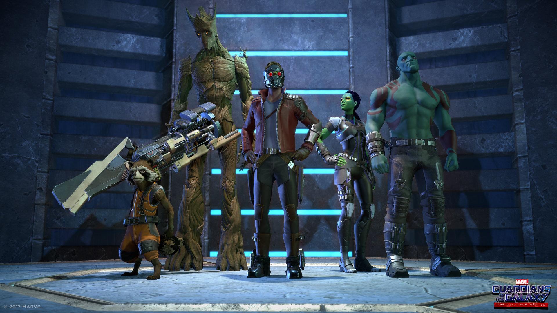 Guardianes de la Galaxia: The Telltale Series