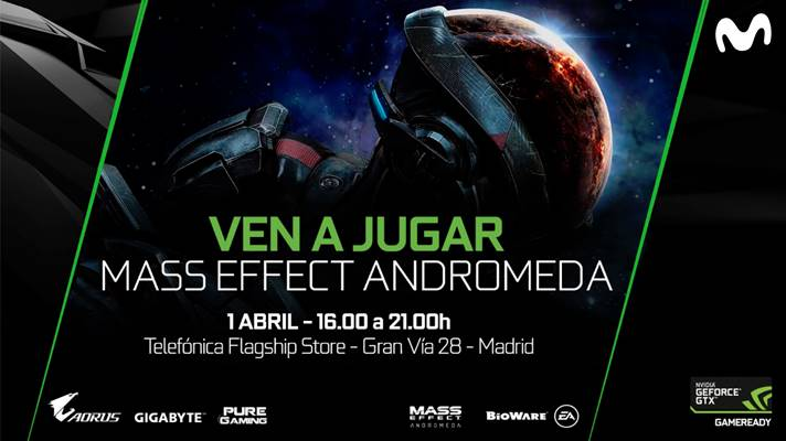 Mass Effect Andromeda - Evento en Madrid