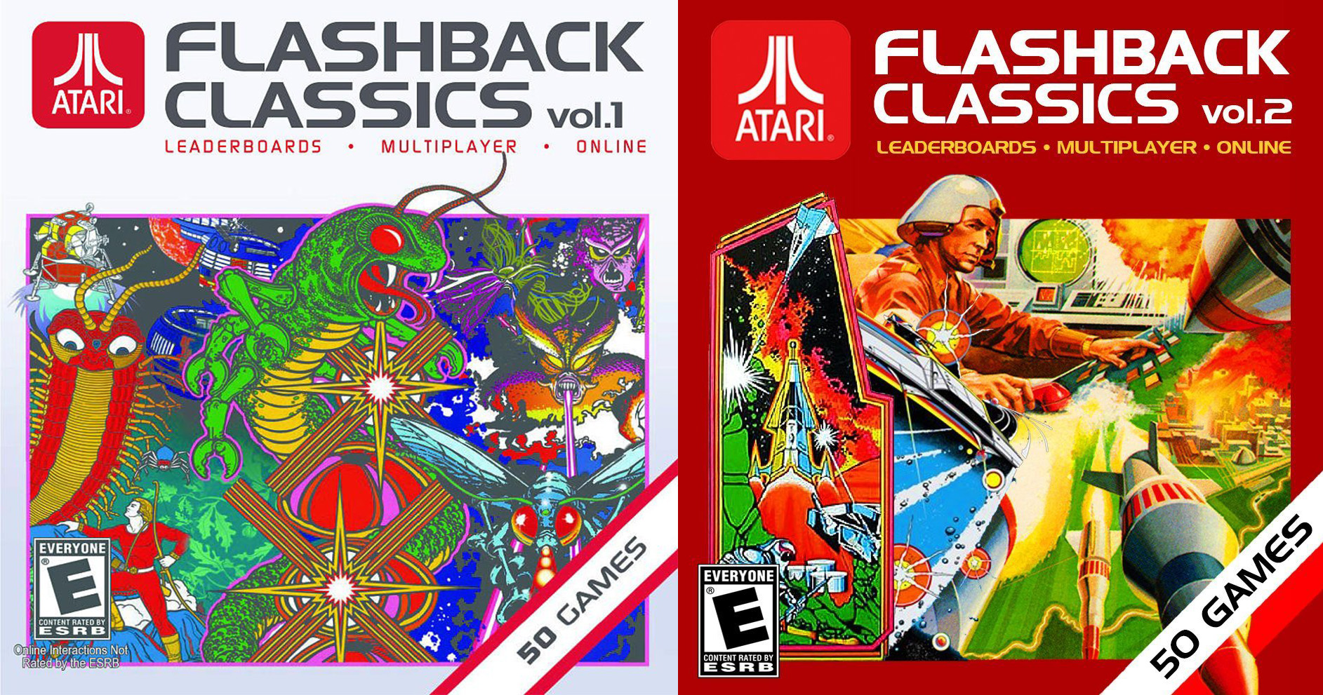 Atari Flashback Classics - Vol 1 & 2