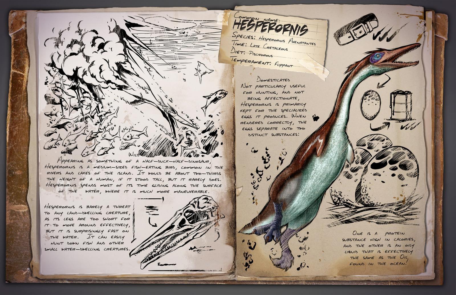 ARK - Hesperornis Avenatantes