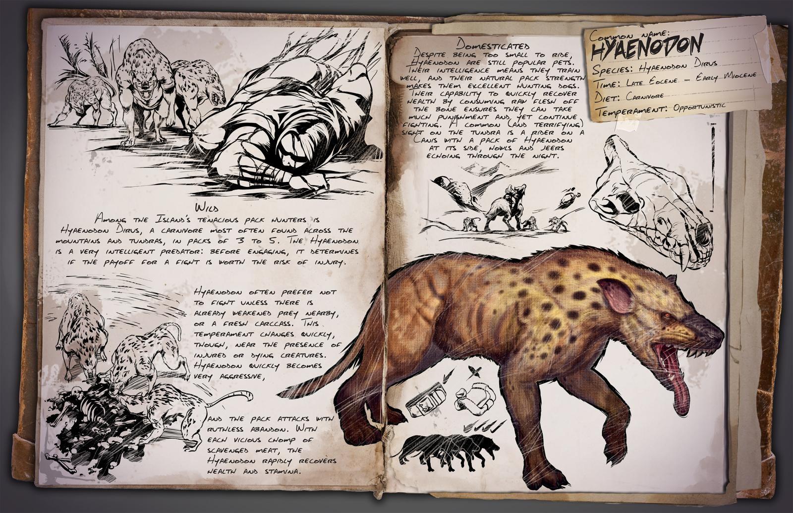 ARK - Hyaenodon Dirus