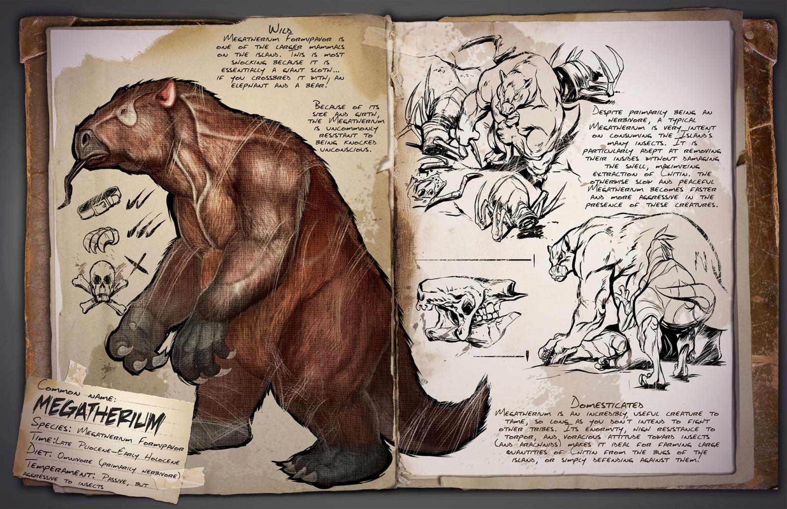 ARK - Megatherium Formipavor