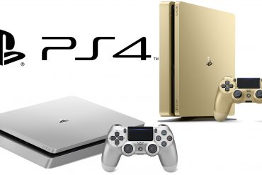 PS4 Gold & Silver