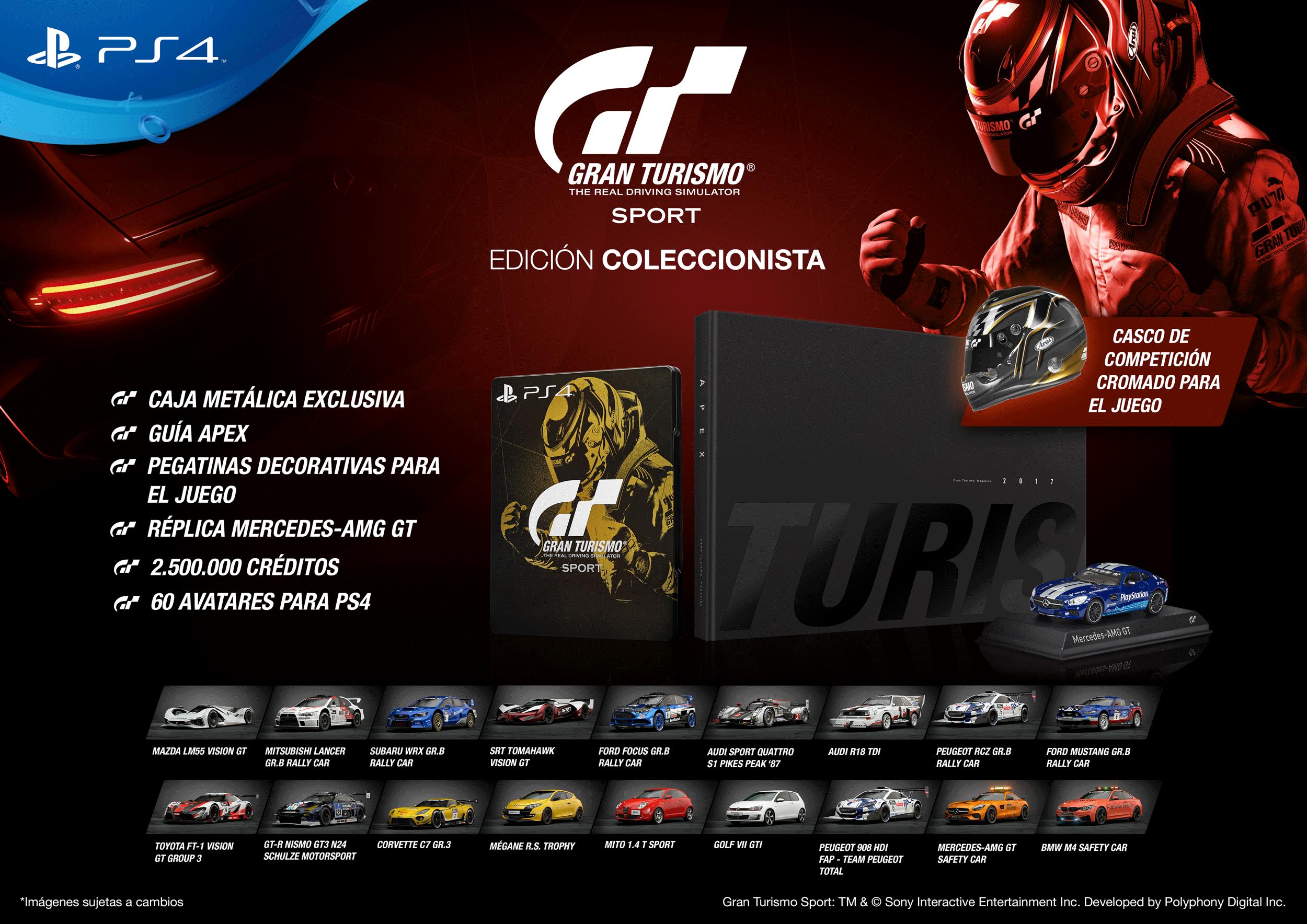 Gran Turismo Sport - Collectors