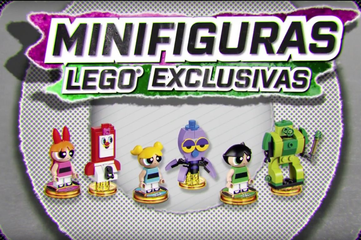 Las Supernenas - LEGO Dimensions - Powerpuff Girls