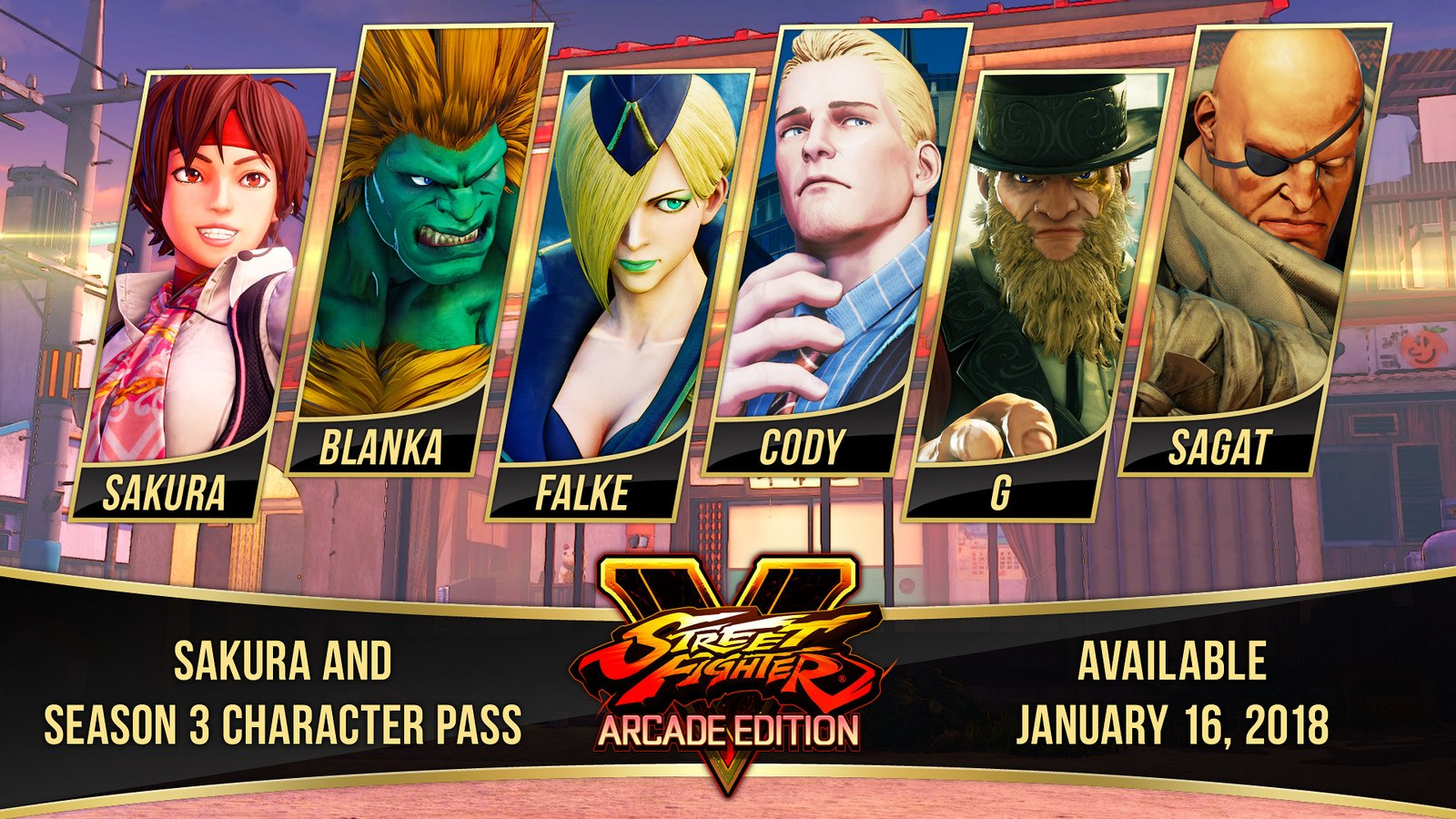 Street Fighter V: Season 3