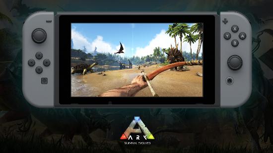 ARK: Survival Evolved - Switch
