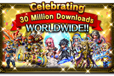 Final Fantasy: Brave Exvius - 30 Million Downloads Banner
