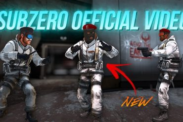 CS: GO . Counter Strike: Global Offensive - Subzero map