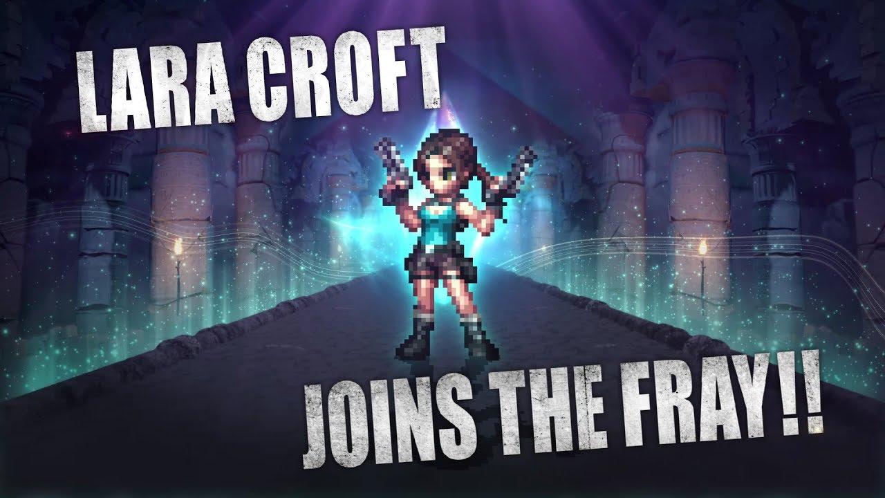 Final Fantasy Brave Exvius - Lara Croft