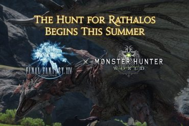 Final Fantasy XIV Online - Monster Hunter World - Rathalos