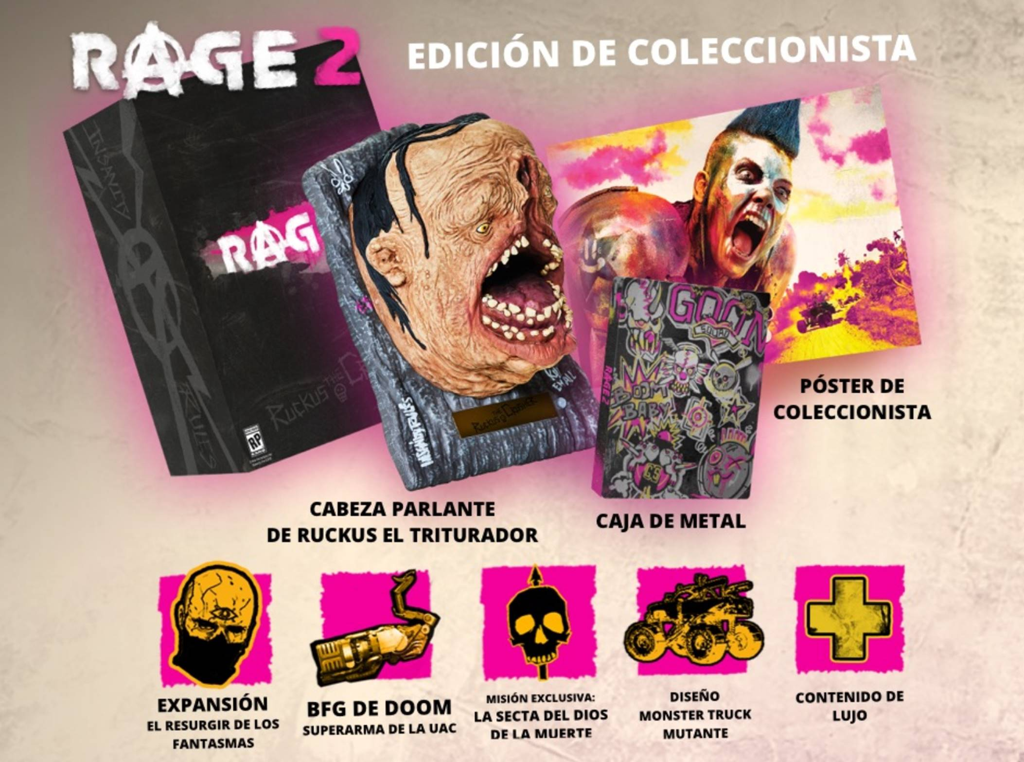 RAGE 2 Edicion Coleccionista