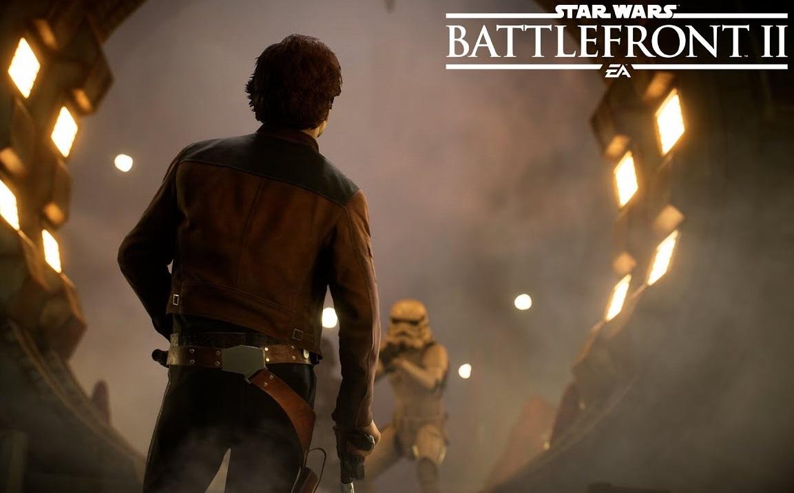 Star Wars Battlefront II Han Solo