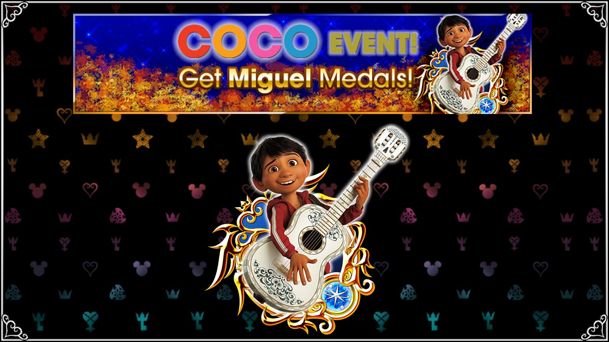Kingdom Hearts Union X - Coco