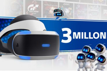 PS VR 3 millones