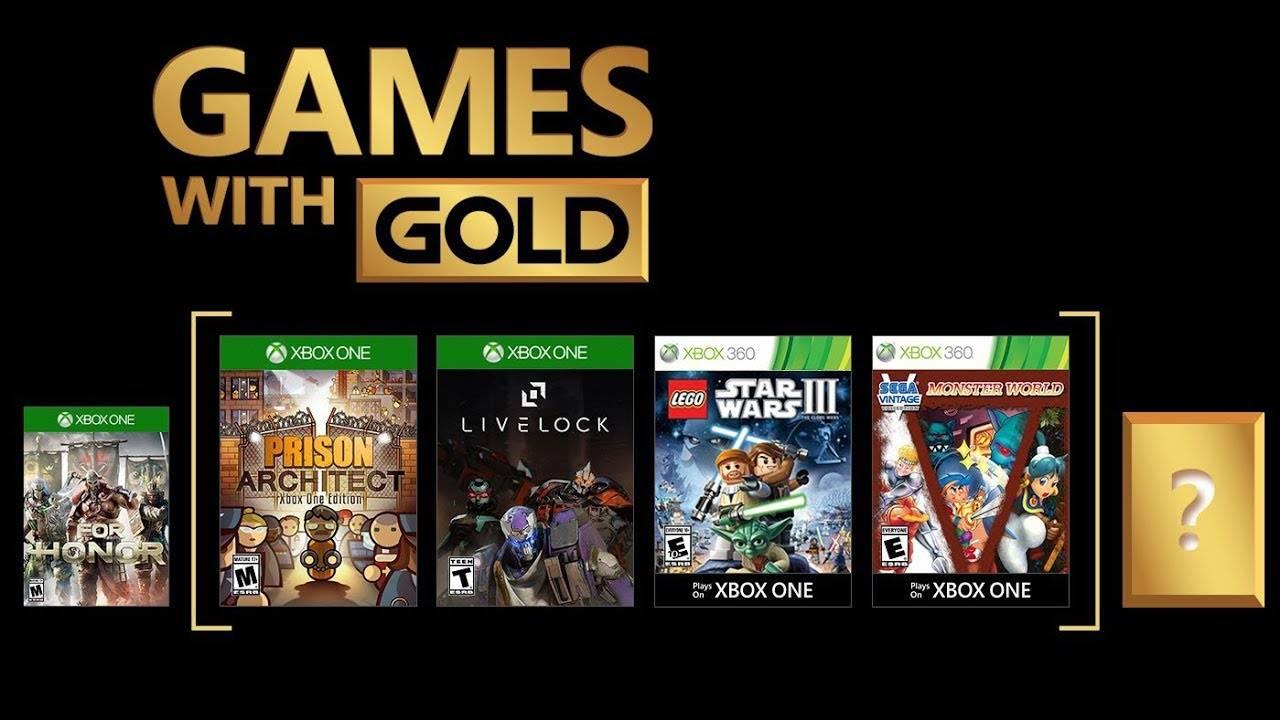 Juegos con Gold - Septiembre 2018