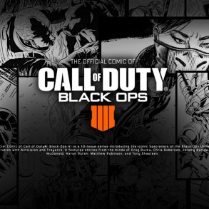 Call of Duty Black Ops 4 - Cómics