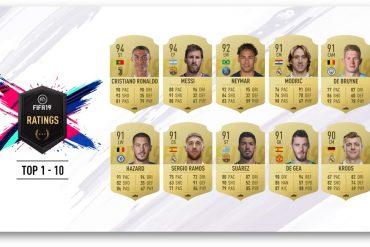 FIFA 19 - 10 mejores