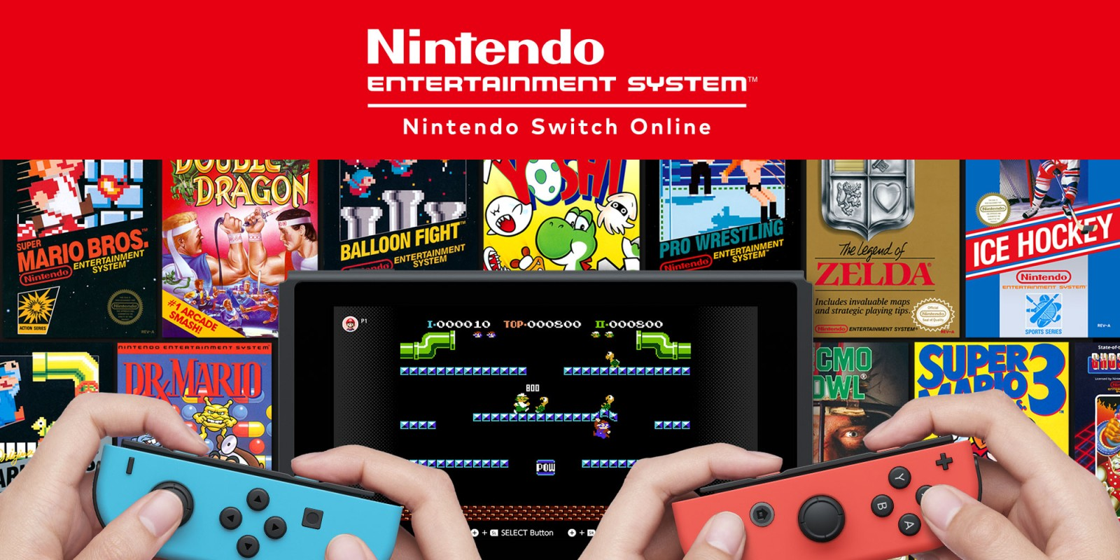 Nintendo Switch Online - NES Games