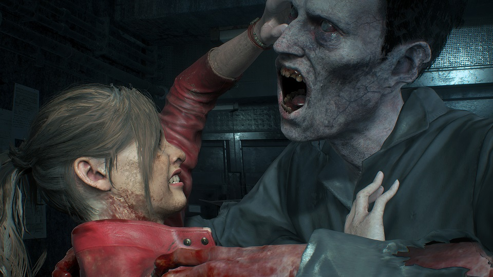 Resident Evil 2 - Claire - Licker
