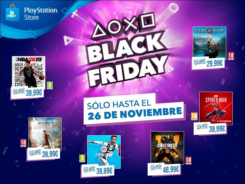PS Store Black Friday 2018