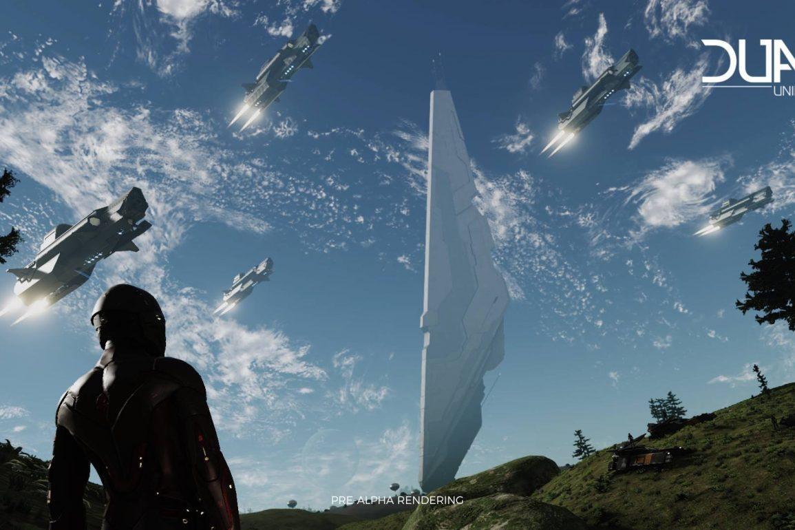 Dual Universe - Pre Alpha Rendering