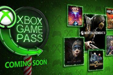 Xbox Game Pass Diciembre 2018