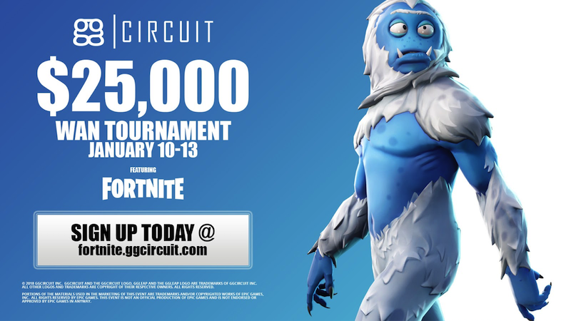 ggCircuit Torneo Invernal WAN Fortnite