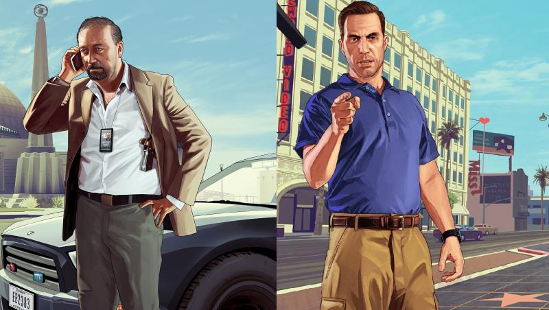 Grand Theft Auto V - Dave y Steve