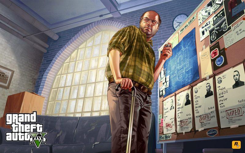 Grand Theft Auto V - Lester