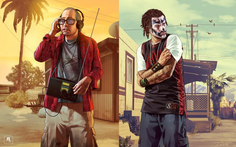 Grand Theft Auto V - Ron y Wade