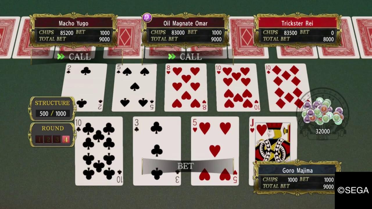 Yakuza - Póker