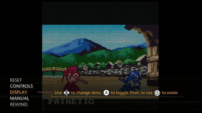 Samurai Shodown 2 - Filtro de pantalla