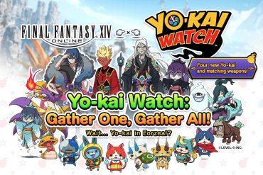 Final Fantasy XIV Online Yo-Kai Watch