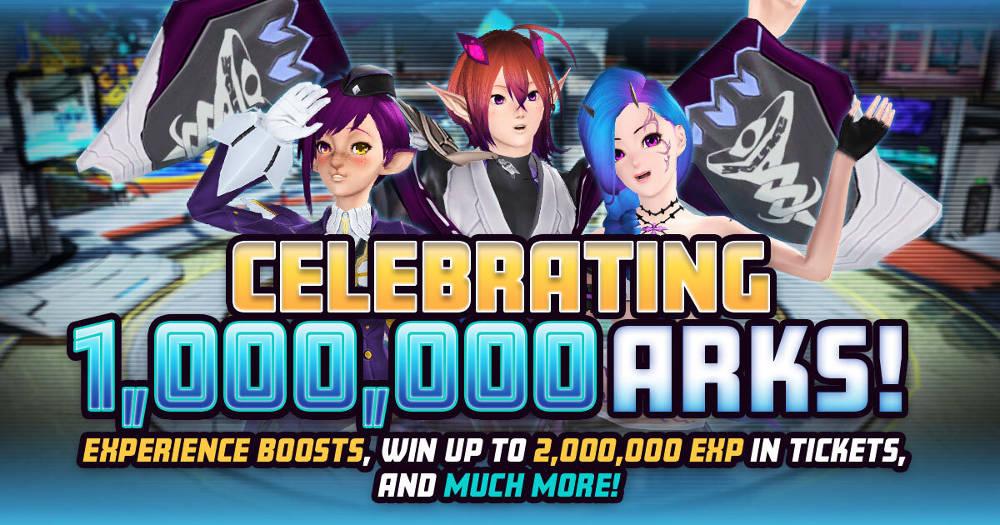 Phantasy Star Online 2 Global One Million ARKS Celebration